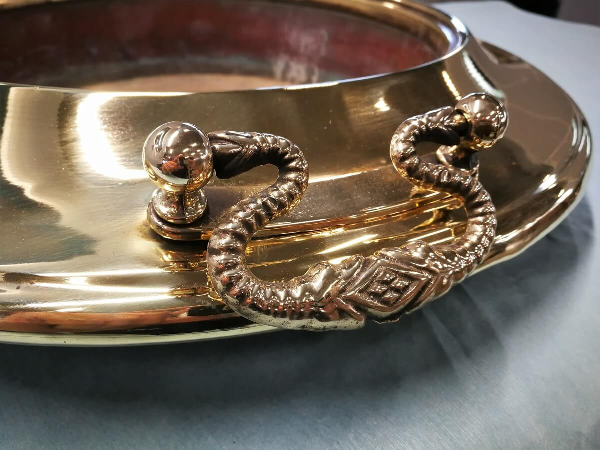 restauro oggetti in rame a brescia