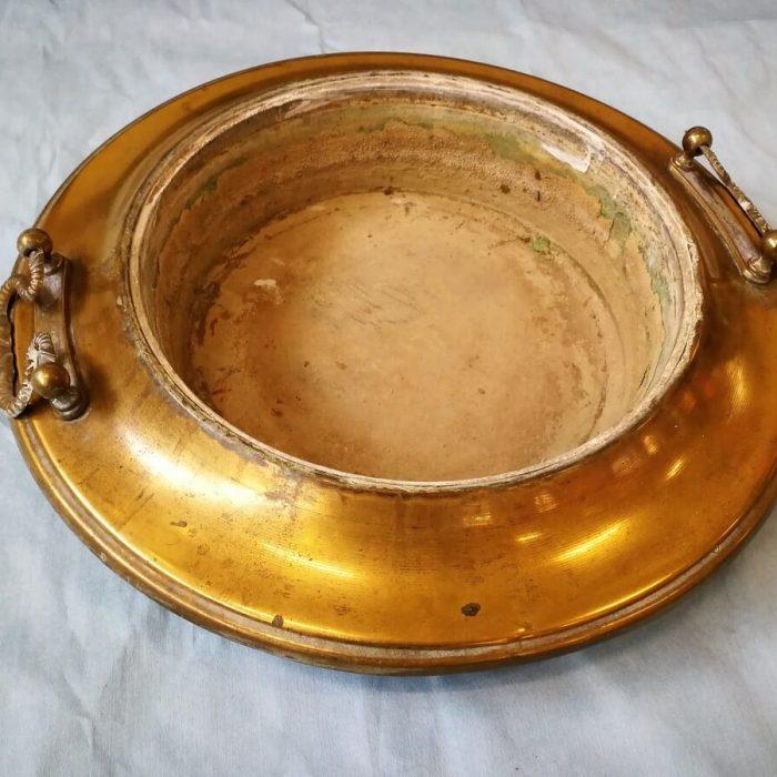 restauro oggetti in ottone a brescia