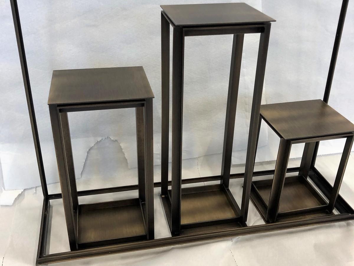 espositore ds dusini pulitura metalli progetto